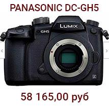 Panasonic Lumix 4K DC-GH5 (черный)